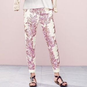 J. Crew Seaside Pant in Iridescent Sequin